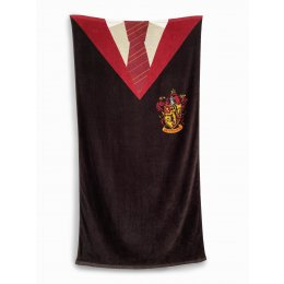 Serviette de bain Harry Potter Uniforme Gryffondor
