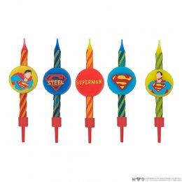 Set 10 bougies Superman