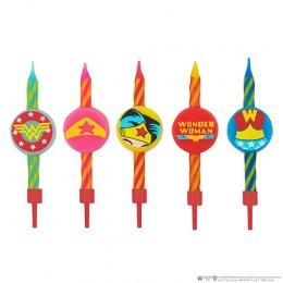 Set 10 bougies Wonder Woman