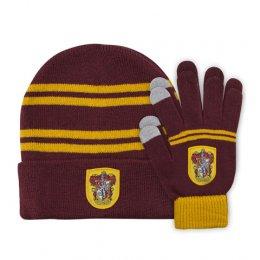 Set bonnet et gants enfant Gryffondor Harry Potter