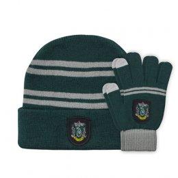 Set bonnet et gants enfant Serpentard Harry Potter