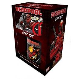 Set Deadpool Mug sous verre et porte-clés