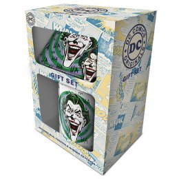 Set mug sous-verre et porte-clés Joker Batman
