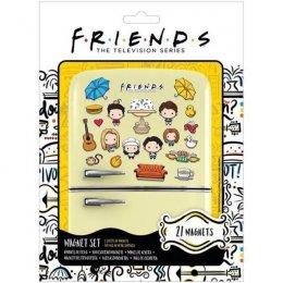 Pack de 21 magnets Chibi Friends