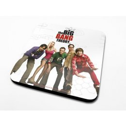 Sous-Verre Cast 10 x 10cm Big Bang Theory