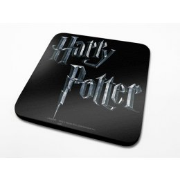 Sous-Verre Logo 10 x 10cm Harry Potter
