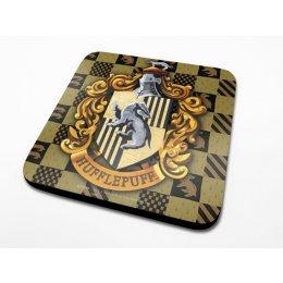 Sous-Verre Poufsouffle 10 x 10cm Harry Potter