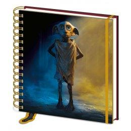 Carnet Bloc Notes à spirales Dobby Harry Potter