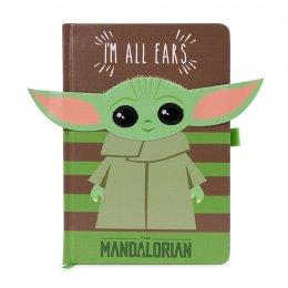 Carnet Bloc Notes Star Wars The Mandalorian I'M ALL EARS GREEN