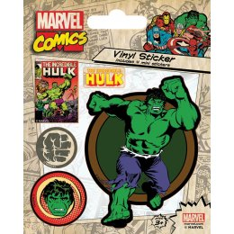 Stickers Retro Hulk