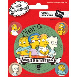Stickers Simpsons Dork Squad