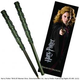 Stylo Baguette Hermione Granger et marque page