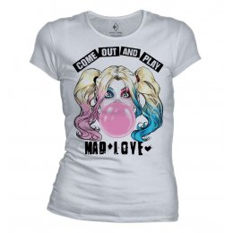 T-shirt Harley Quinn Mad Love Bubble