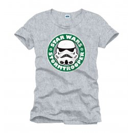 T-shirt Star Wars Enfant Stormtrooper Coffee