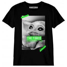 T-shirt Star Wars Enfant The Force Baby Yoda