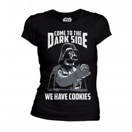 T-shirt Star Wars femme We have cookies