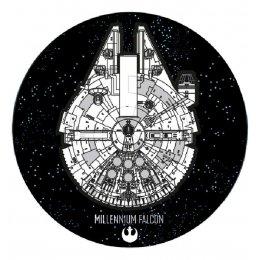 Tapis Star Wars Falcon Millenium