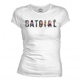 Tee-Shirt Batman Femme Flower
