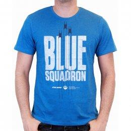 Tee-Shirt Bleu Blue Squadron Star Wars