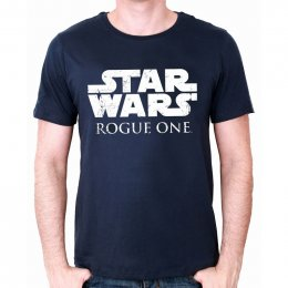 Tee-Shirt Bleu Rogue One Star Wars