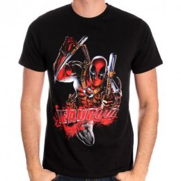 Tee-Shirt Bloody Attack Deadpool