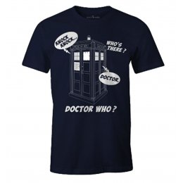 Tee-Shirt Doctor Who Homme Knock Knock