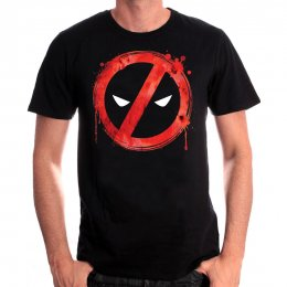 Tee-Shirt Forbiden Splash Head Deadpool