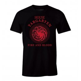 Tee-Shirt Game of Thrones Targaryen Fire and Blood