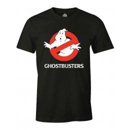 Tee-Shirt Ghostbusters noir Logo classique