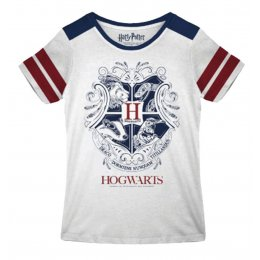 Tee-Shirt Harry Potter Femme Poudlard Blason vintage