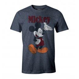 Tee-Shirt Mickey bleu vintage