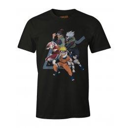 Tee-Shirt Naruto noir seven team