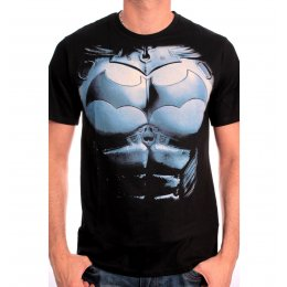 Tee Shirt Noir Arkham Origins Armor Batman