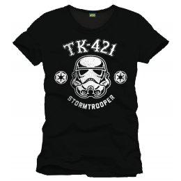 Tee-Shirt Noir TK-421 Trooper Star Wars
