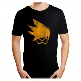 Tee-Shirt Overwatch Tracer Tag