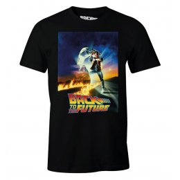 Tee-Shirt Retour vers le futur Marty Delorean