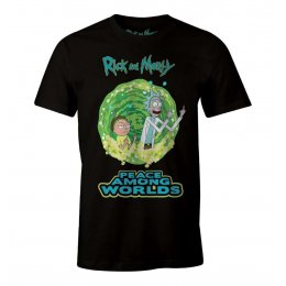 Tee-Shirt Rick et Morty Peace Among Worlds