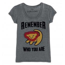 Tee-Shirt Roi Lion Remember Disney