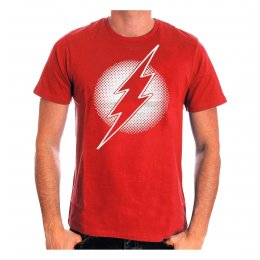 Tee Shirt Rouge Logo Re-Imagined Flash