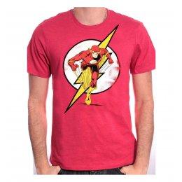 Tee Shirt Rouge Running Flash