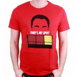 Tee-Shirt That's My Spot The Big Bang Theory