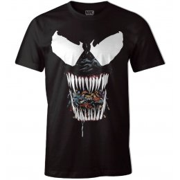 Tee-Shirt Venom Marvel Black Venom