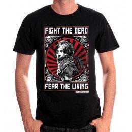 Tee-Shirt Walking Dead Daryl Fight the dead