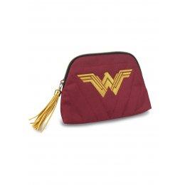 Trousse Wonder Woman rouge et dorée