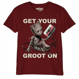 T-Shirt Enfant Gardiens de la Galaxie Get your groot on