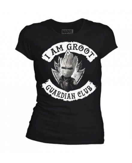 T-Shirt I am Groot Guardian Club femme