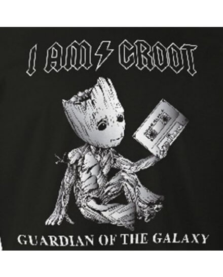 T-Shirt I am Groot Rock homme