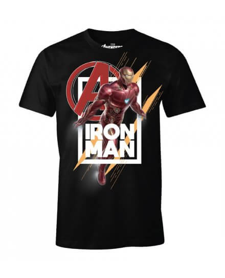 T-Shirt Iron Man Avenger Flight
