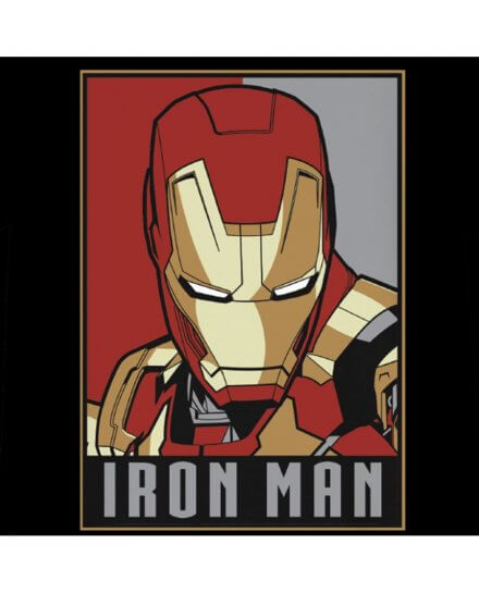 T-shirt Iron Man Enfant Obey Style