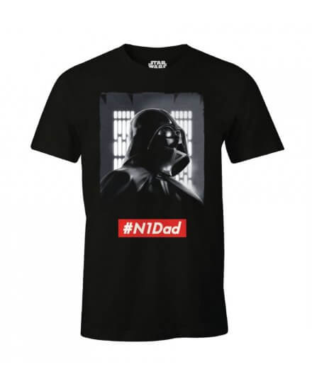 T-shirt Star Wars Dark Vador N1Dad